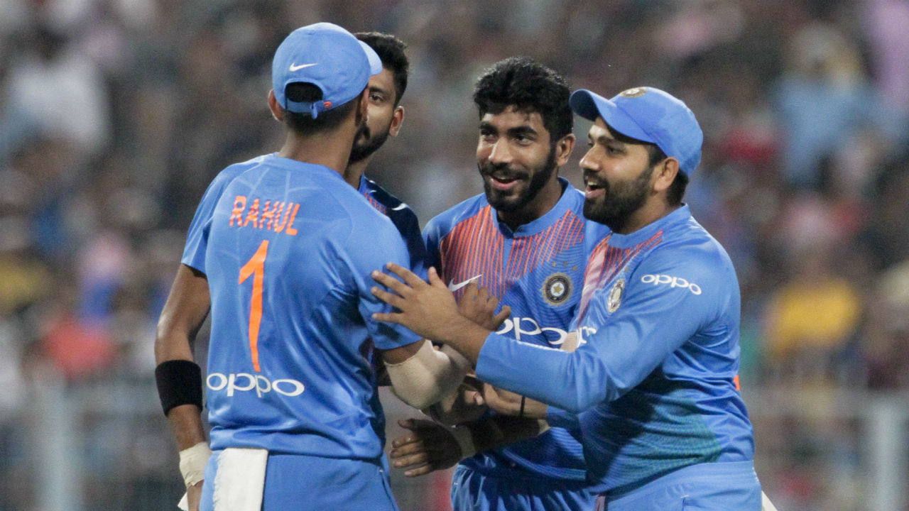 india vs west indies 1st t20I jasprit bumrah wicket