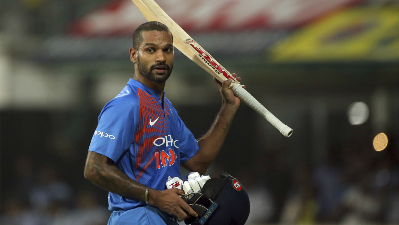 Shikhar Dhawan: Sharma's opening partner Shikhar Dhawan had a few quiet matches against West Indies but, got back in his groove with a well-made 92 against the West Indies. Dhawan has hit the ground running just at the right time. T20I Matches: 43 | Innings: 43 | NO: 3 | Runs: 1115 | Highest: 92 | Average: 27.87 | Strike Rate: 129.20 | 50s: 8 | 100s: 0 (Image: AP)