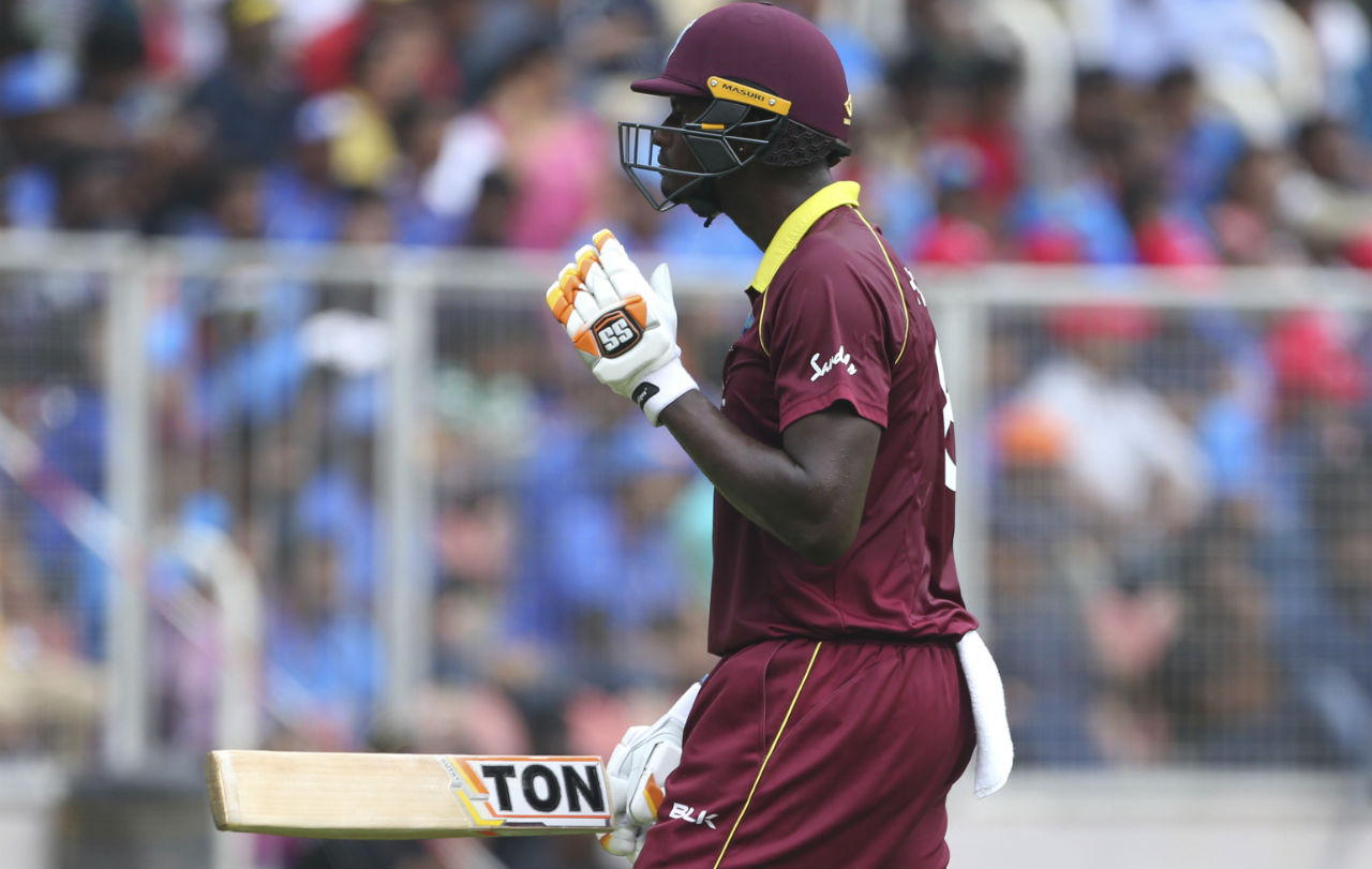 The Windies were bowled out for just 104 runs in 31.5 overs. It was their lowest ODI total against India. (Image: AP)