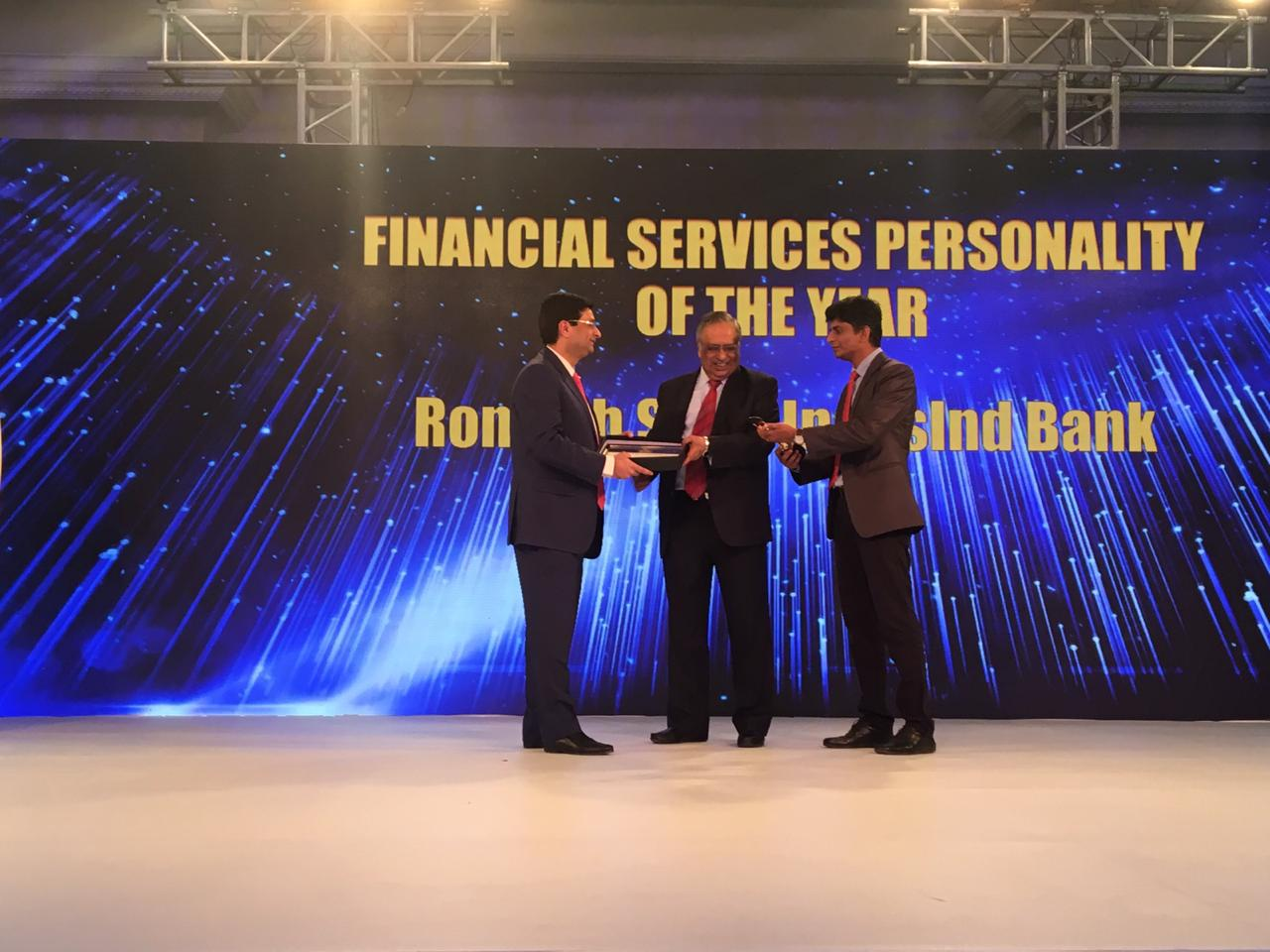 Financial services personality of the year: Romesh Sobti, IndusInd Bank | Sobti is a career banker with 43 years of experience across 3 sectors of banking – public, foreign and private. He took over as MD & CEO of IndusInd Bank in February 2008. Prior to his stint with IndusInd, he was the Executive Vice President and Country Executive, India and Head, UAE and Sub-Continent, at ABN AMRO Bank N.V. He joined the bank in November 1990 as a chief manager and graduated to the Country Executive over a period of 18 years. In his banking career, Sobti has been associated with ANZ Grindlays Bank (now Standard Chartered Bank) and country's biggest lender State Bank of India. He holds a Bachelor's Degree (Honours) in Electrical Engineering and a Diploma in Corporate Laws and Secretarial Practice. (Image: Moneycontrol)
