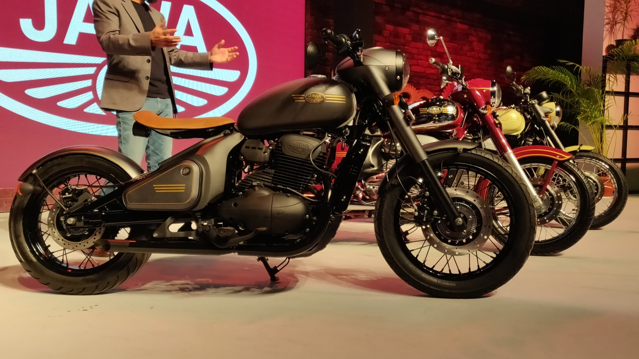 Jawa finally makes its debut with three new motorcycles starting at a price of Rs 1.55 lakh