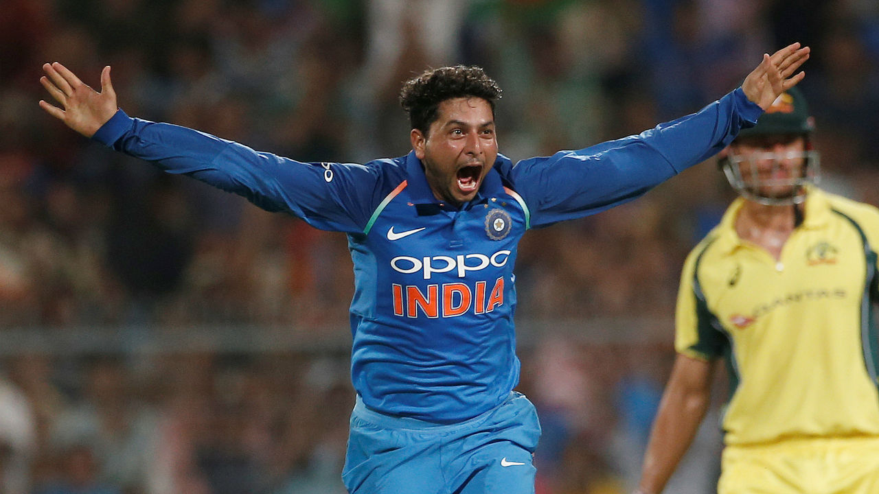 Kuldeep Yadav (India) | Kuldeep Yadav is now India's premium spinner in limited overs cricket. When India tends to go with just one front line spinner in a match, Kuldeep is picked over Yuzvendra Chahal. He finished as India's leading wicket taker for the series. Like Zampa, Kuldeep's services were used to the maximum as he too bowled 50 overs in 5 matches. Series Stats | Matches: 5 | Innings:5 | Overs: 50| Runs Conceded: 302| Wickets: 10 | Best Bowling: 3/54 | Average: 30.20| Economy: 6.04. (Image: AP)