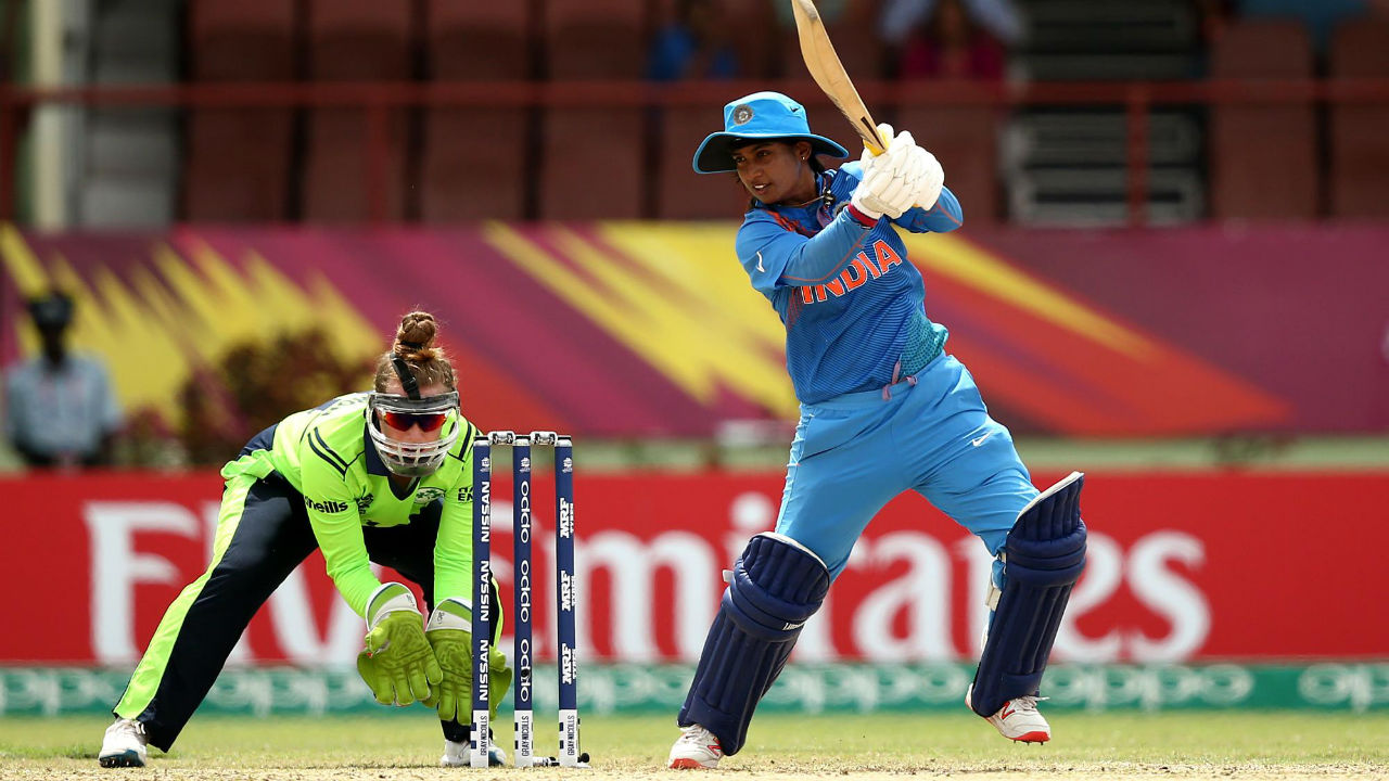 Mithali notched up her second consecutive fifty in the tournament in the 18th over off 54 balls. Skipper Harmanpreet Kaur and Veda Krishnamurthy could add just seven and nine runs respectively before returning to the dug-out. Mithali too was dismissed soon after on 51 runs. India managed to reach 145/6 after 20 overs. (Image: icc-cricket.com)