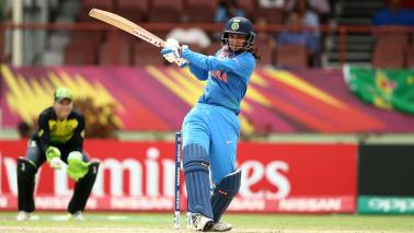 Women's World T20: Mandhana hits 83 to set up India's 48-run win over Australia