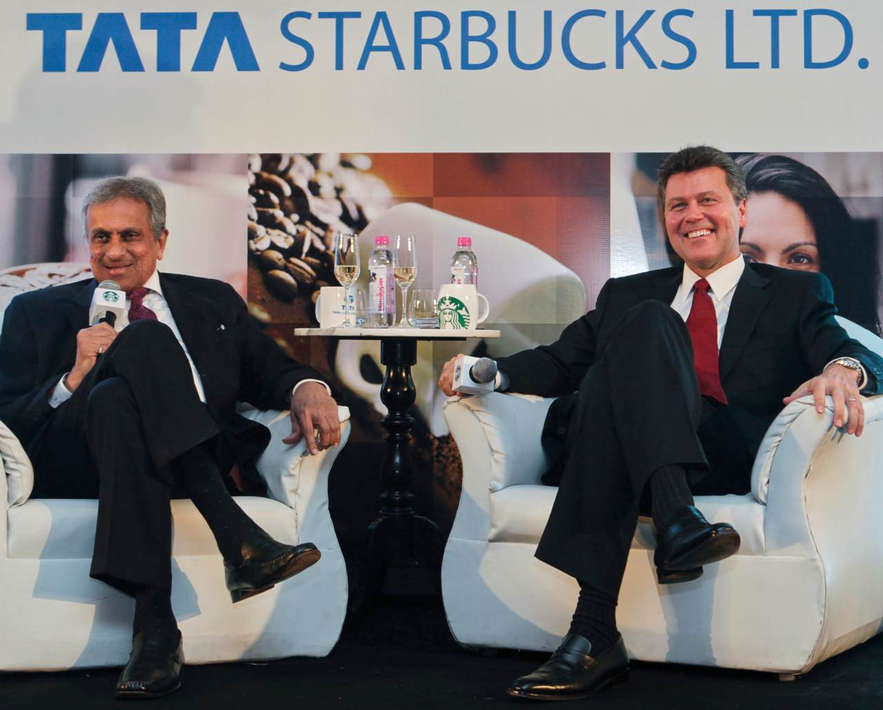 Tata Global Beverages | Founded in 1964, the company suffered a tumultuous gestation period as the tea industry in India came under pressure due to rising input and labour costs, dwindling margins, as well as high taxes. The industry not only faced threat from China but also from other countries. With brands such as Kannan Devan, Agni, Gemini and Chakra Gold under its ambit, Tata Global Beverages has become the world's second-largest manufacturer and distributor of tea and a major producer of coffee. In 2012, the company brought renowned coffeehouse chain Starbucks to India in a 50/50 joint venture. (Image: Reuters)