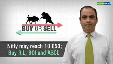 Buy or Sell | Nifty may reach 10,850; Buy RIL, Bank of India and Amitabh Bachchan Corporation