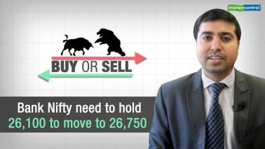 Buy or Sell |Bank Nifty to move to 26,750; Buy IndusInd Bank