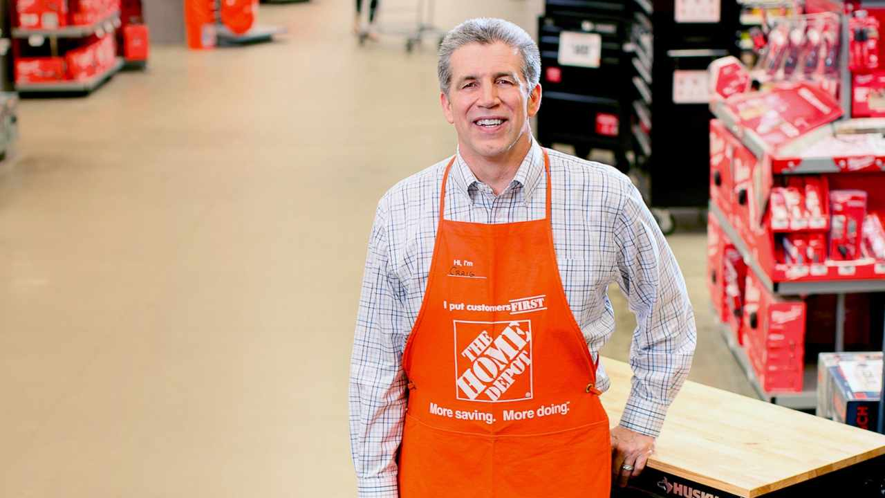 Craig Menear, The Home Depot | Known as the 'Darling of Wall Street' due to Home Depot's records at the stock markets, Menear is the second-best CEO in the US. He has been at the helm of the home improvement supplies company since 1997. (Image: The Home Depot)