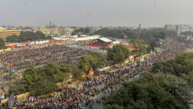 Thousands gather in Delhi for VHP rally for Ram Temple