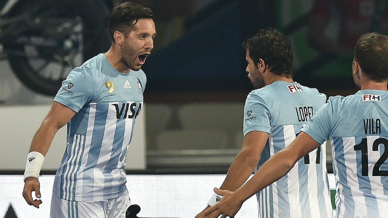 2) Agustin Mazzili | Argentina | Goals – 3 | Matches Played – 2 | Field Goals – 3 | Penalty Corners – 0 (Image: International Hockey Federation)