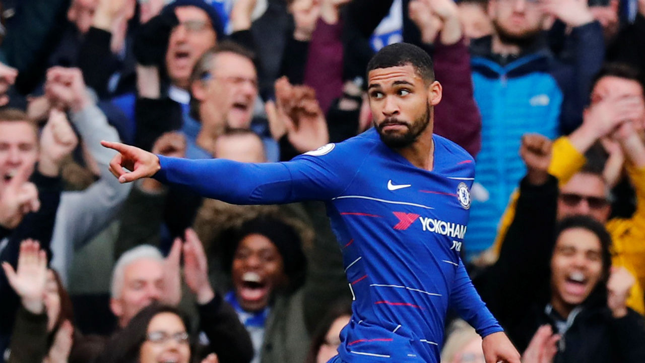 Chelsea 2 - 0 Fulham | Goals from Pedro (4') and Ruben Loftus-Cheek (82') at either end of the match ere enough to see Chelsea past Fulham at Stamford Bridge to win the West London Derby. Thanks to the win the Blues with 31 points remain third in the league standing while Fulham are at the foot of the table with mere 8 points. (Image: Reuters)