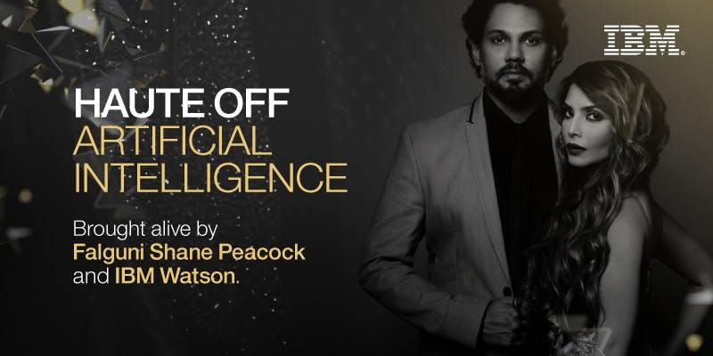 """3. AI becomes fashionable: Indian fashion designers Falguni and Shane Peacock introduced Cognitive Couture in collaboration with IBM cognitive technology Watson, through an """"AI saree"""". The saree gown that was worn by winners at an event had LED lights that changed colours according to the wearer's personality. With the help of Watson's Personality Insights application programme interface, the team conducted a detailed study on each awardee through their social media handles. (Image: Falguni Shane Peacock and IBM Watson)"""