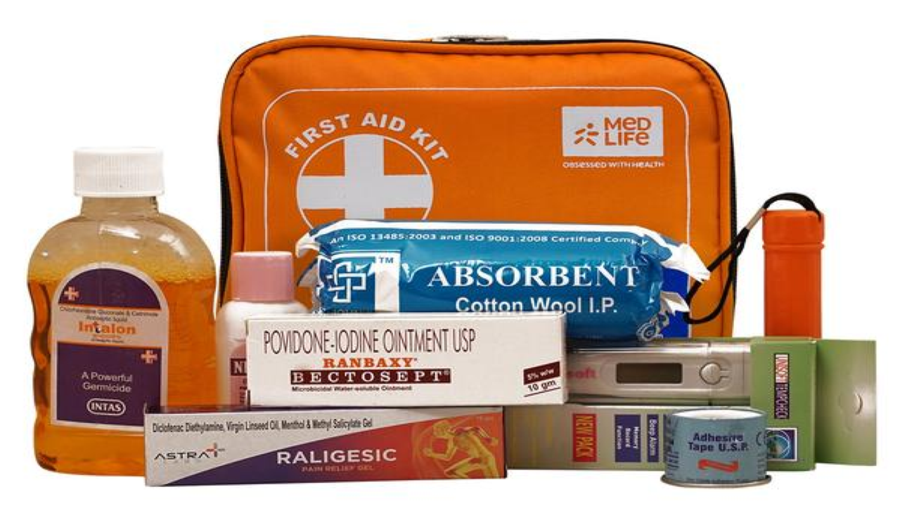 Family First Aid Kit |Injuries are inevitable sometimes, no matter how careful one is. While you may not be able to avoid injuries during travel, you can safeguard yourself if you end up in an unfortunate incident. A well-stocked first aid kit like the Medlife Family First Aid Kit may not just ease one's pain, it may in fact end up saving somebody's life. Plus, they do not even cost a bomb. (Image Source: Pixabay)