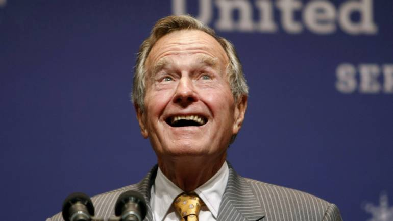 Reactions to Death of George H.W. Bush Note Legacy of Service