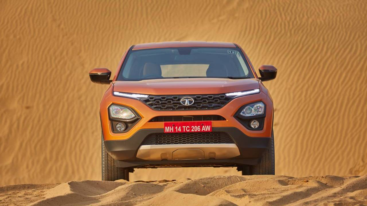 The vehicle will come in four trim levels and five colour options. It will be manufactured at the Ranjangaon plant near Pune which is controlled by the joint venture company of Tata-Fiat. More than 800 sales people have been hired to market the Harrier.