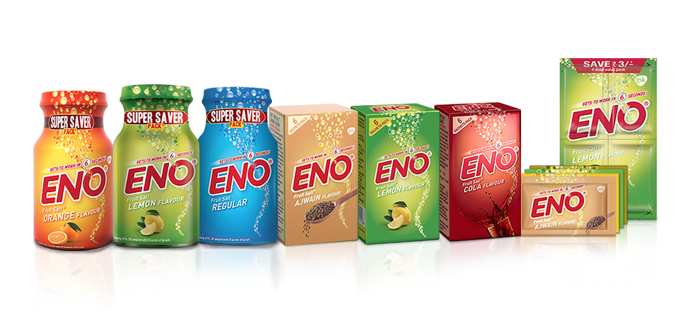 A: Eno (Image: GlaxoSmithKline India website)