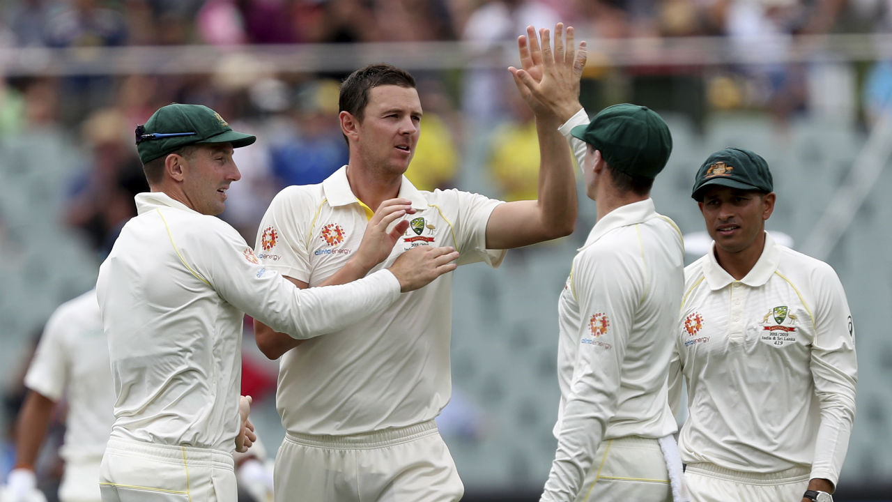Josh Hazlewood soon picked up the wicket of Rahul. The Indian opener was dismissed on the personal score of 44. At fall of Rahul's wicket India's score read 76/2 with the visitors having a leading by 91 runs. (Image: AP)