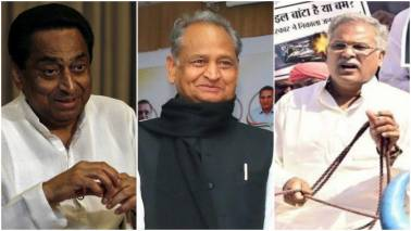 Kamal Nath, Ashok Gehlot and Bhupesh Baghel to take CM oath today: Key points