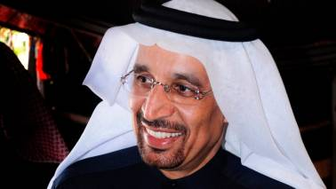 Saudi energy minister Khalid al-Falih confident in full compliance with OPEC supply cuts within weeks