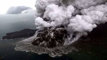 Landslide on Krakatau volcano seen as likely trigger of Indonesia tsunami
