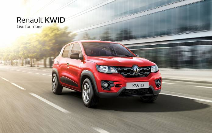 Renault will launch a Kwid-based multi-purpose vehicle (MPV). This MPV will measure less than four meters and will be the smallest vehicle of its class in India (Image source: Renault)