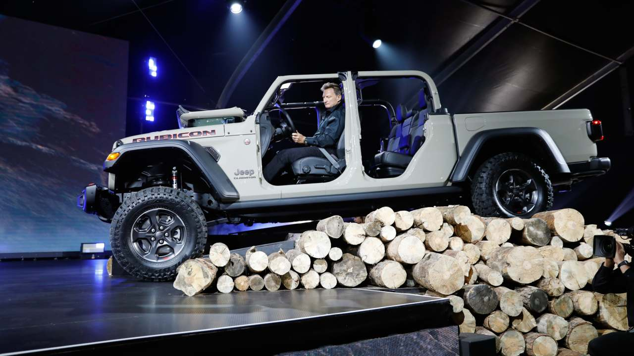 2020 Jeep Gladiator Rubicon (Image: Reuters)