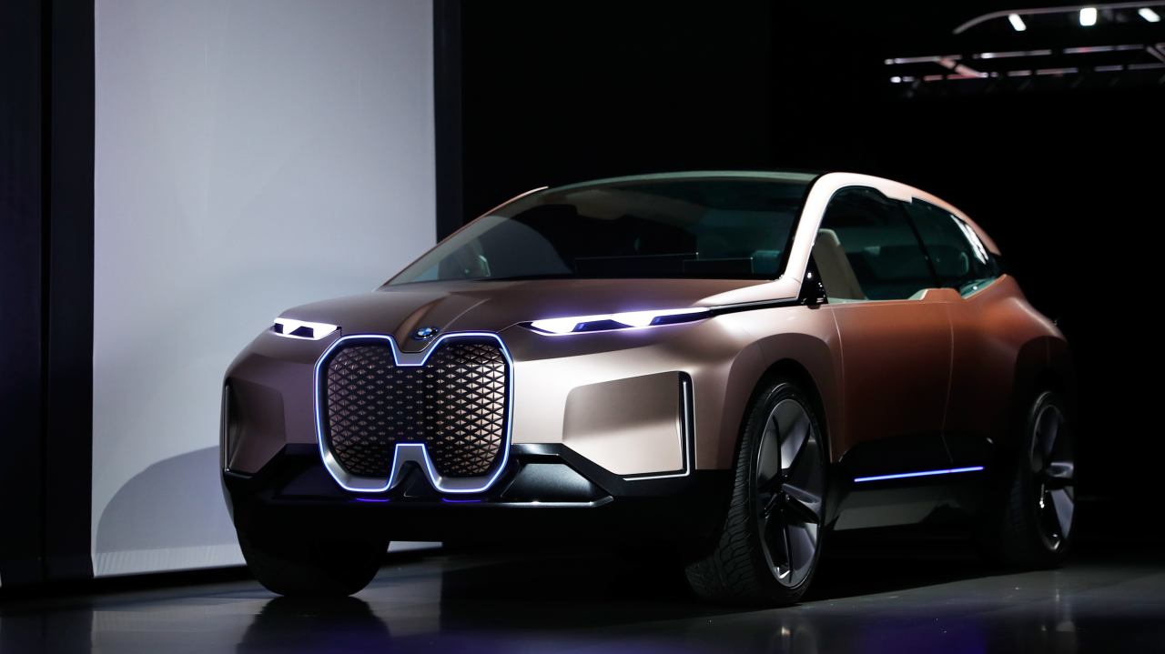 BMW Vision iNext (Image: Reuters)