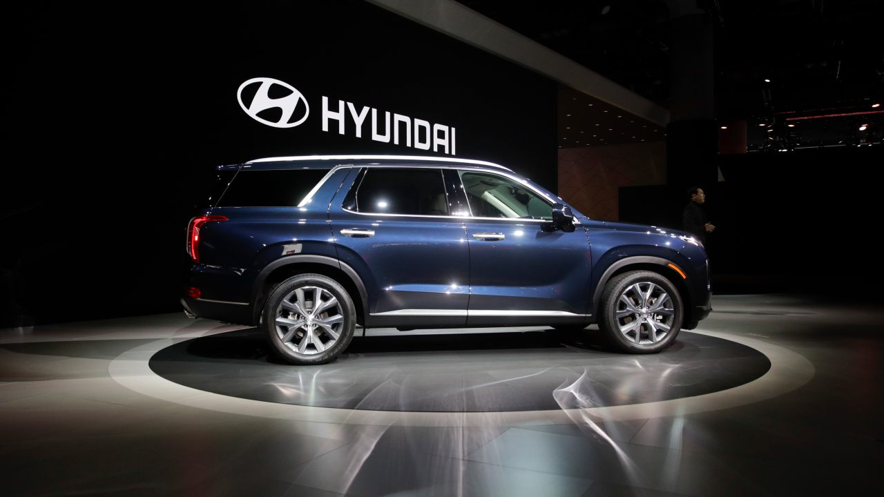 2020 Hyundai Palisade (Image: AP)