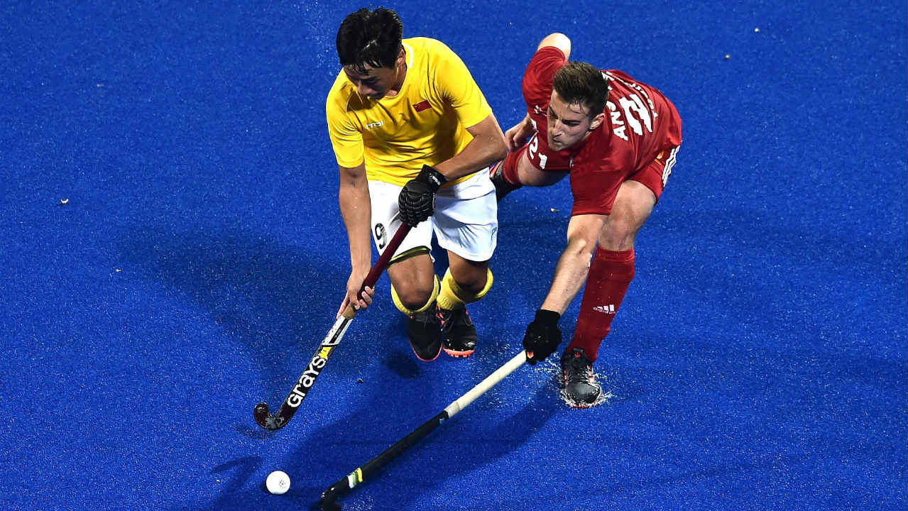 5) Liam Ansell (right) | England | Goals – 1 | Matches Played – 2 | Field Goals – 1 | Penalty Corners – 0 (Image: International Hockey Federation)