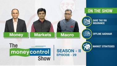 The Moneycontrol Show | Insurance as tax saving idea; offline Aadhaar; market strategies