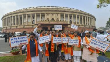 Stormy day in Lok Sabha, opposition corners govt on various issues