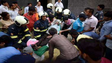 Mumbai hospital fire: Swiggy delivery executive saves 10 lives