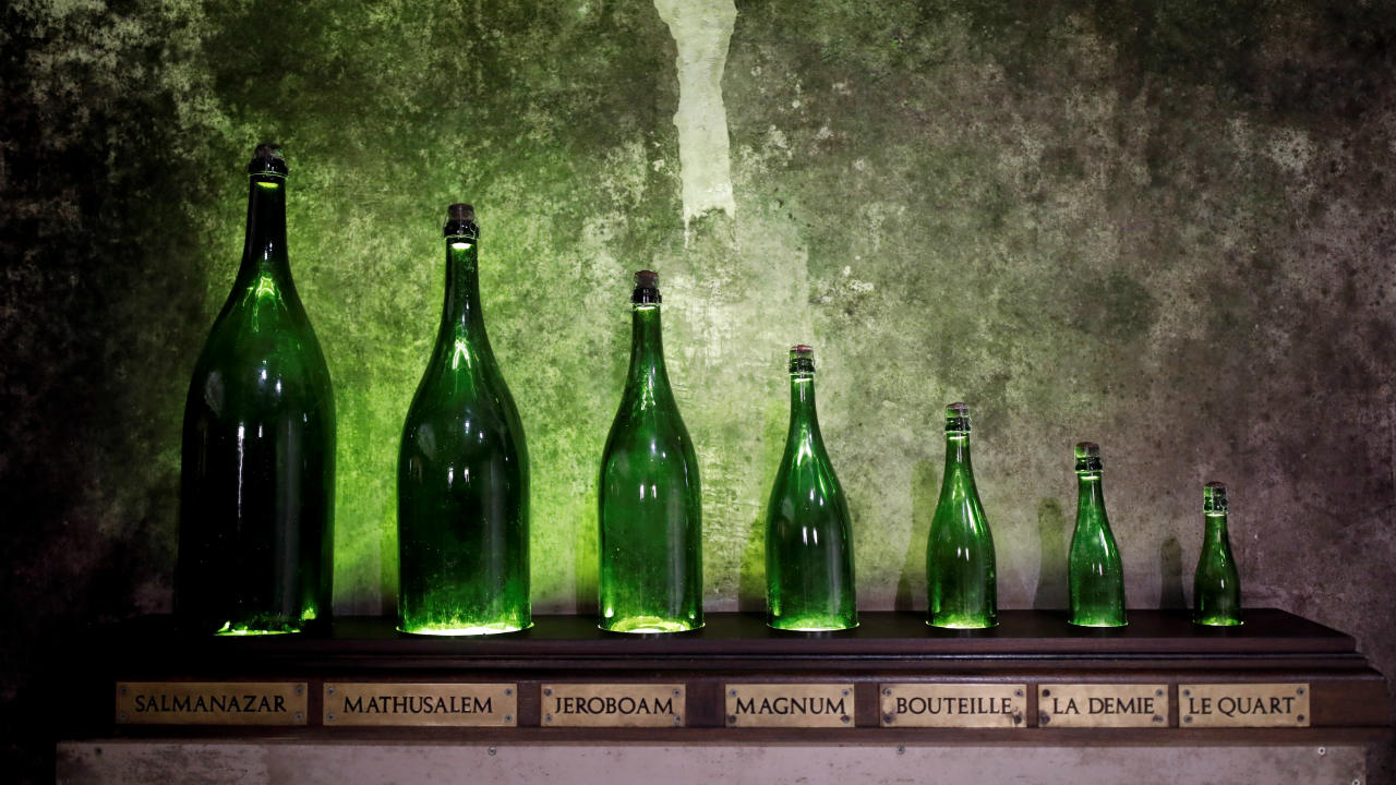 Q17. Wine with bubbles manufactured in Champagne, France is called Champagne. What is the same product called if manufactured elsewhere? (Image: Reuters)