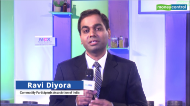 Ravi Diyora at Commodity Ki Baatein, Vadodara