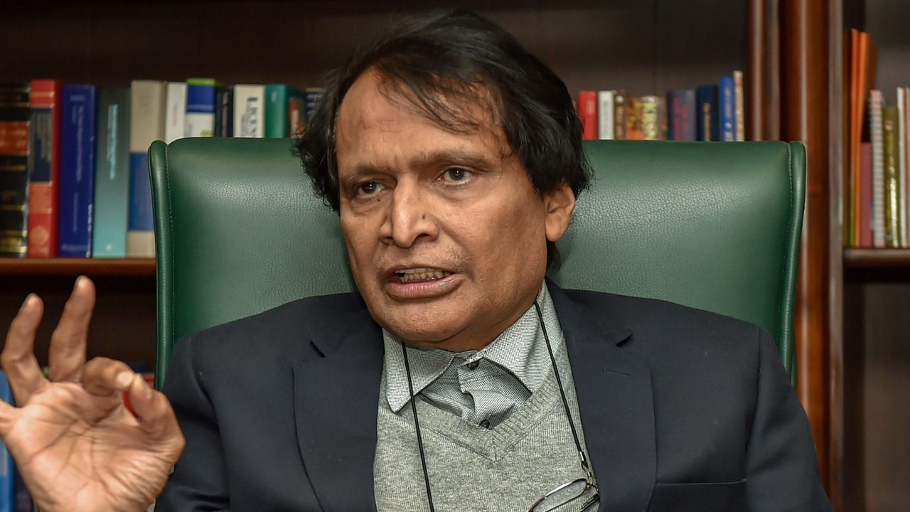 Q14. What exclusive government-owned store was inaugurated at the departure terminal of the Goa International airport in January 2019 by Suresh Prabhu, minister for Commerce & Industry and Civil Aviation? (Image: PTI)