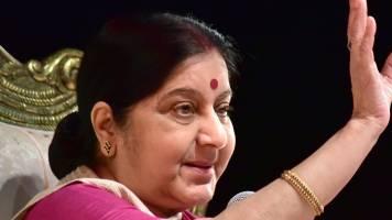 We are monitoring situation in Sri Lanka: Sushma Swaraj