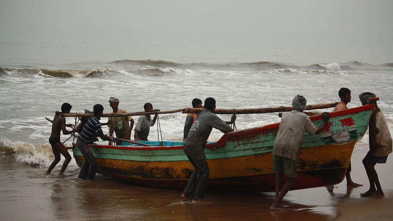 "Men of the sea | The fishermen of Kerala emerged as a ray of hope, rescuing those marooned in the deluge that claimed the lives of more than 480 people. Chief Minister Pinarayi Vijayan, during a press conference, remarked, ""I am giving Kerala's big salute to the fishermen."""
