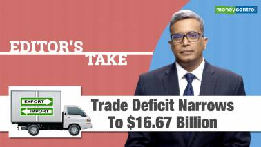 Trade deficit narrows to $16.67 billion​