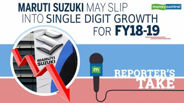 Reporter's Take | Maruti Suzuki may slip into single digit growth for FY18-19