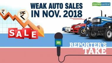 Reporter's Take | Automobile November 2018 Sales: Adverse Macro Weight, Muted Outlook