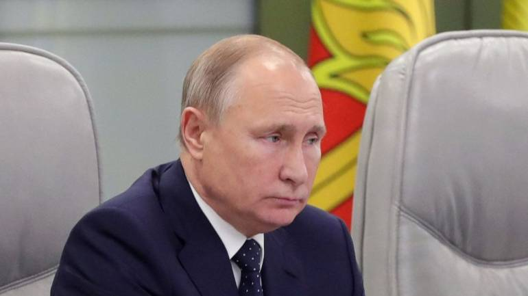 Putin suspends Russian obligations under key nuclear pact