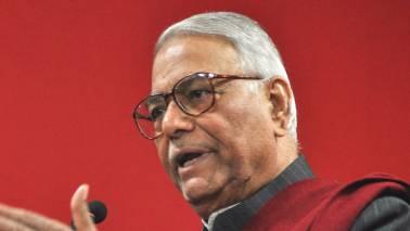 Poll results destroyed 'Modi magic theory': Yashwant Sinha