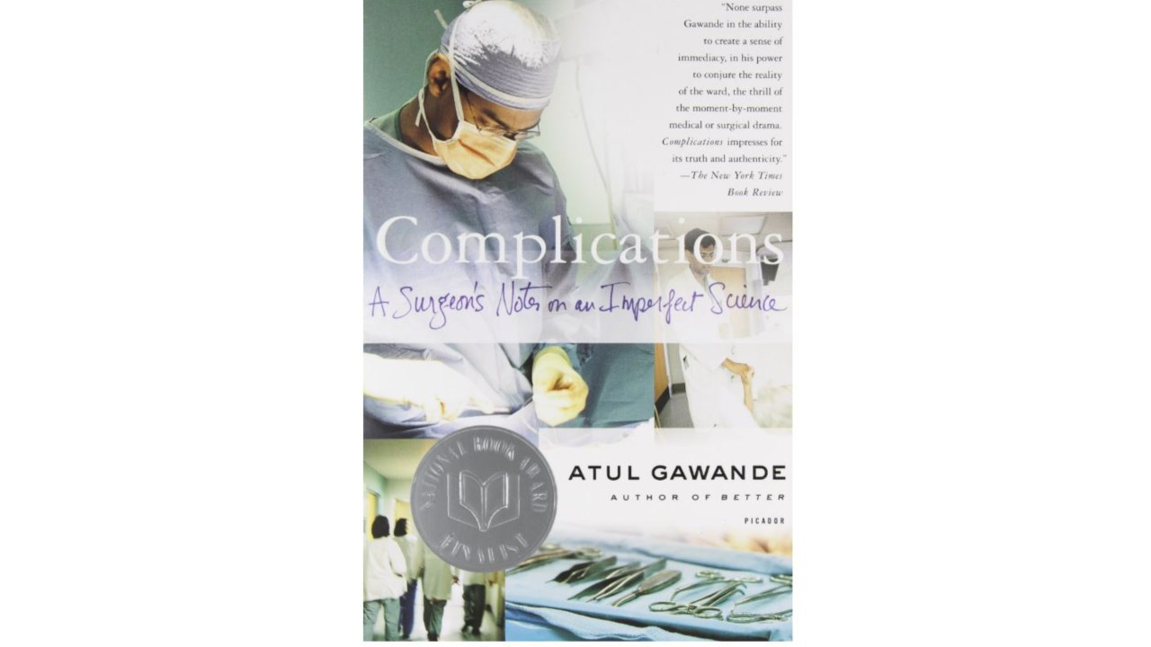 Complications: A Surgeon's Notes on an Imperfect Science by Atul Gawande | Of all the books I read this year, the one that stood out was Atul Gawande's 'Complications'. Even though Gawande, an Indian-origin doctor practicing in Boston, wrote this book over 17 years ago, it is still absolutely valid today. Gawande writes about his personal experiences as a surgeon and about the mistakes he made during surgery. While we tend to treat doctors as Gods, he allows us an honest peek into the other side where doctors are merely overworked human beings putting in long hours under pressure. What I liked the most about the book is where he talks about how owning up to a genuine mistake during surgery gives him closure and forgiveness from a patient instead of a malpractice lawsuit, which is so common in the US. It made me realise the importance of apologies and owning up; that sometimes, a sorry is all people want to hear. – Jasmine Makujina (Image: Amazon)