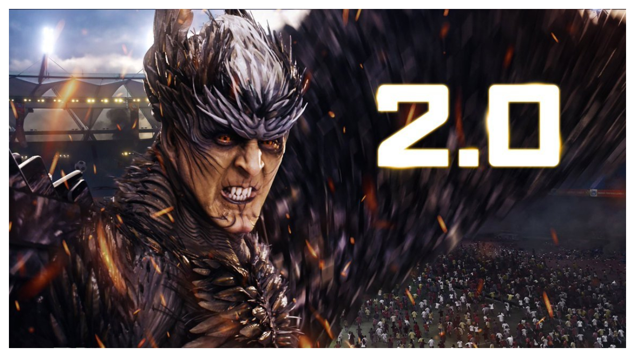 On the first day of its release, the movie's gross collection stood at approximately Rs 82 crore, which is not commensurate with the cost of production. 2.0's initial returns peg it to the second spot on the list of all-time-highest grossing movies in India on the opening day, behind Baahubali 2, which raked in Rs 154 crore. (Image: @2Point0movie)