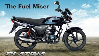 Bajaj Auto launches new Platina 110 at Rs 49,197
