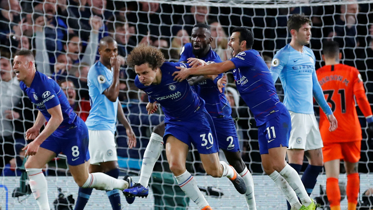 EPL GW 17 Roundup: Chelsea derail City at Stamford Bridge; High flying Reds go on top of the league