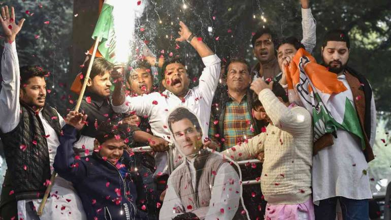 After Congress scores thumping victory in Chhattisgarh, focus shifts to CM candidates