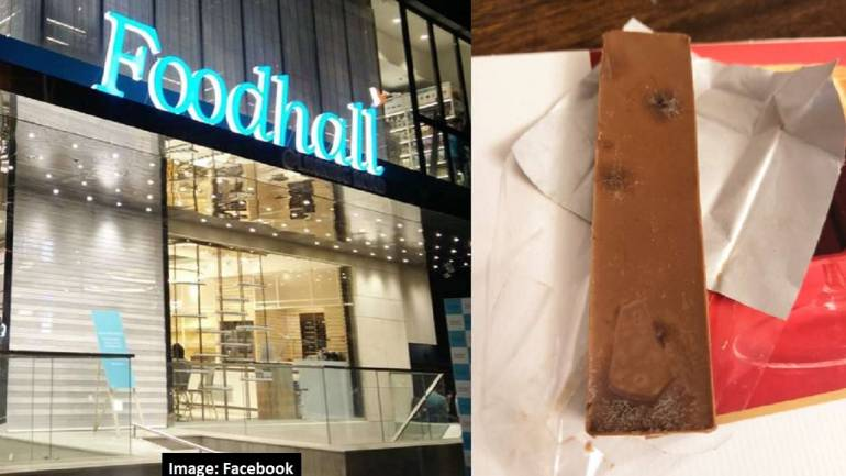 Foodhall Bandra store sells expired, fungus-laden imported chocolate
