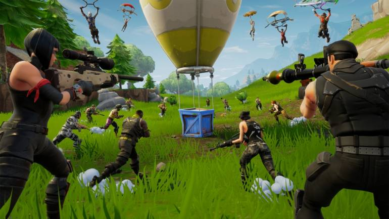 Fortnite is a battle royale multiplayer game developed by Epic Games