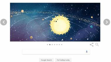 Google Doodle of the Day: Path of the Geminid Meteor Shower of 2018